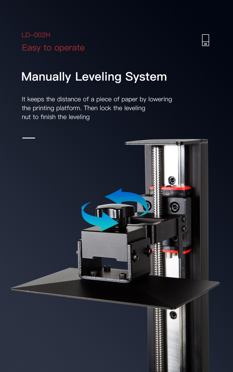 creality ld-002h resin 3d printer