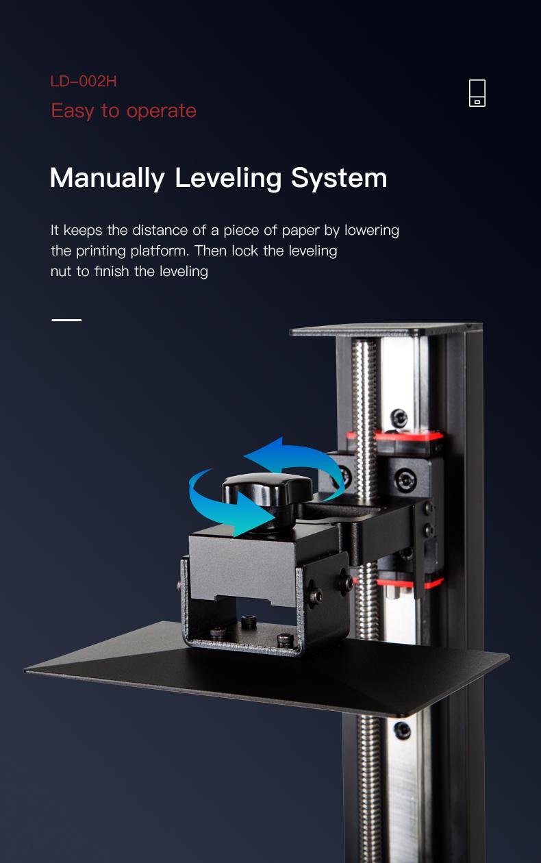 creality ld-002h resin 3d printer
