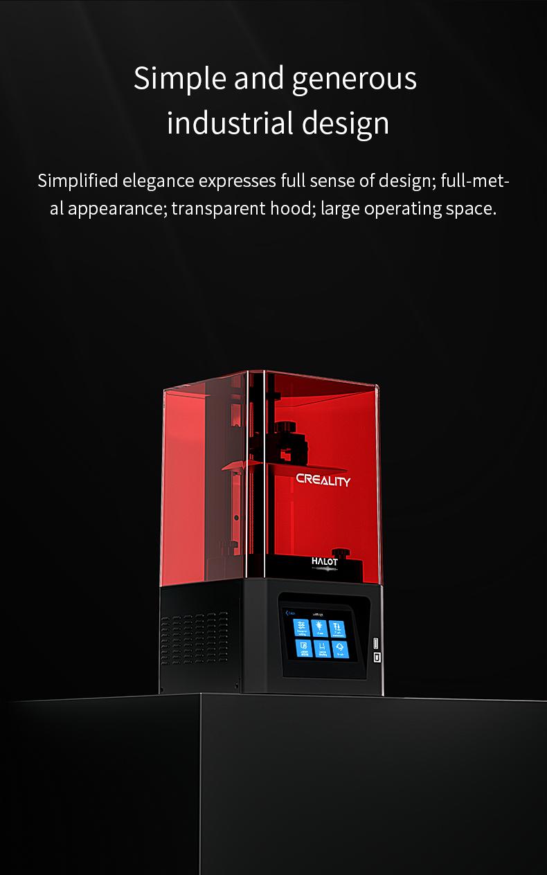 Creality HALOT-ONE树脂3D打印机
