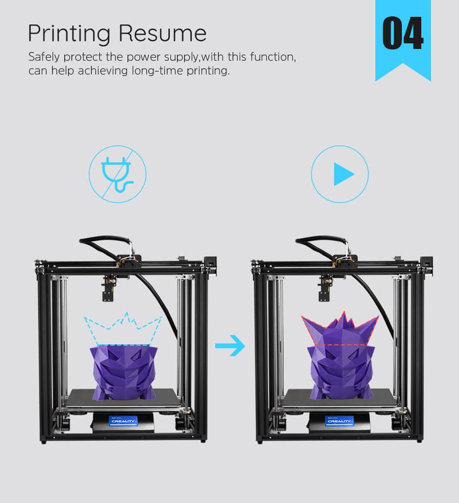 creality Ender-5 Plus 3D Printer
