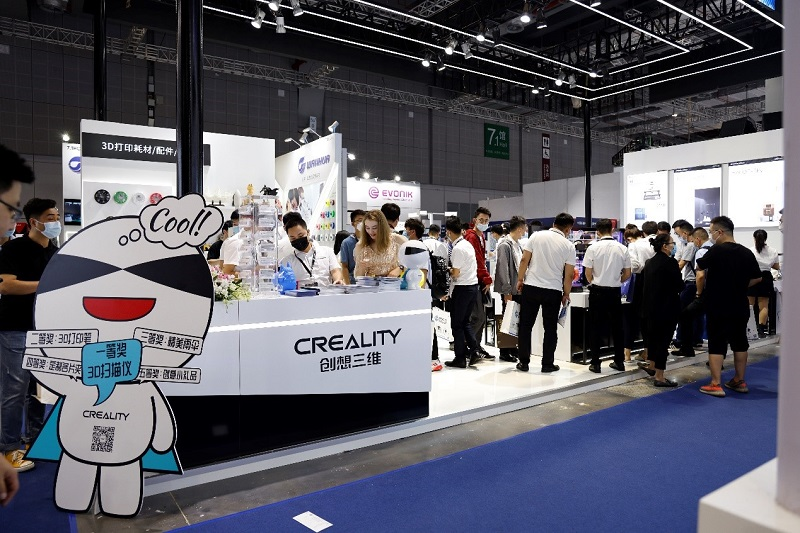 TCT exhibition-creality3d