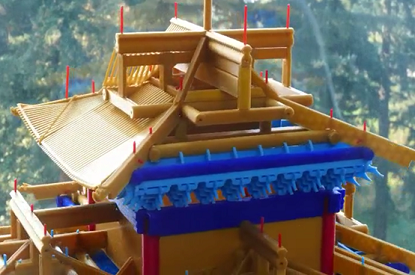 Forbidden City under the 3D printing