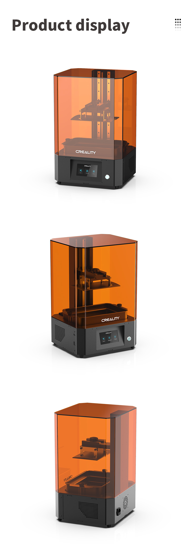 Creality LD-006 Resin 3D Printer