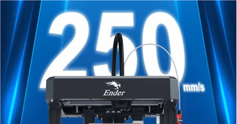Creality Ender-7 high spped 3d printing