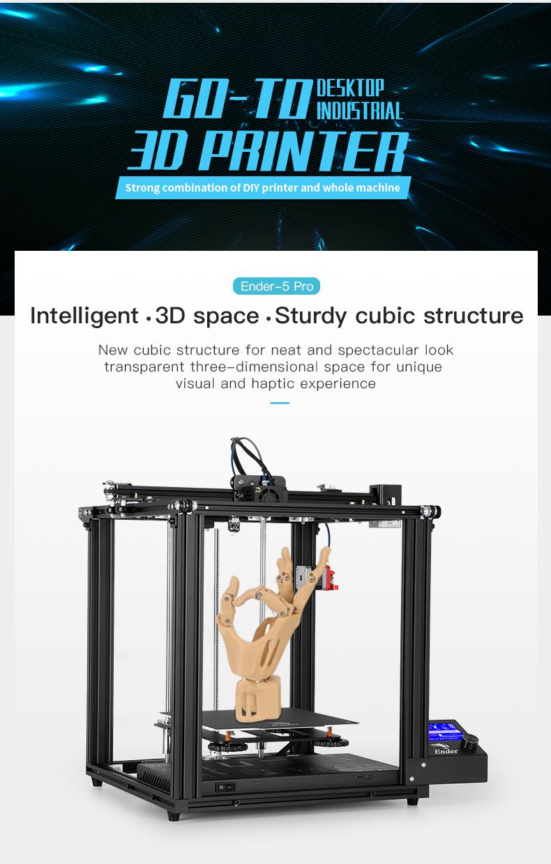 creality ender-5 pro 3d printer